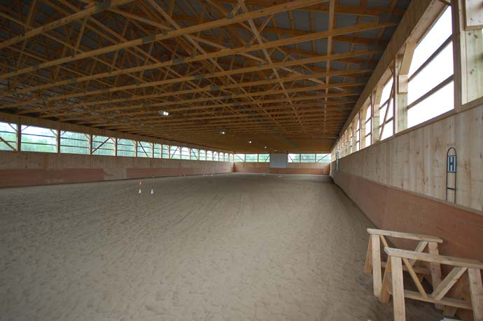 A Post Frame Riding Arena